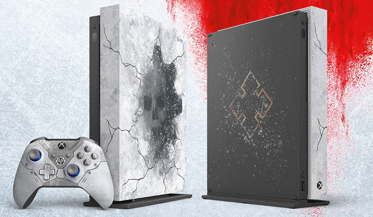 Microsoft anuncia Xbox One X especial para assinalar lançamento de Gears of War 5