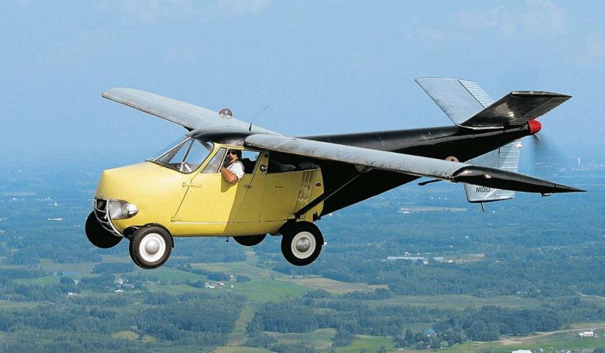 Aerocar One, um carro que voa e que pode ser seu
