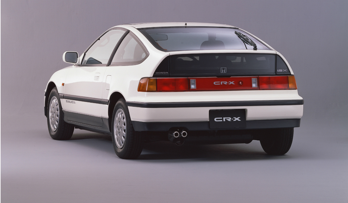 Honda Civic CRX, o menino bonito japonês com a temível sigla VTEC