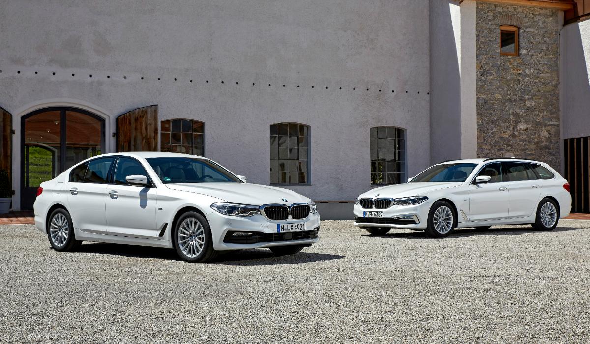 BMW apresenta nova versão mild hybrid do Série 5
