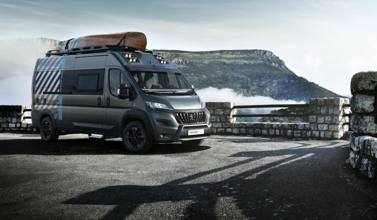 Peugeot Boxer 4×4 Concept, a caravana que o leva a todo o lado