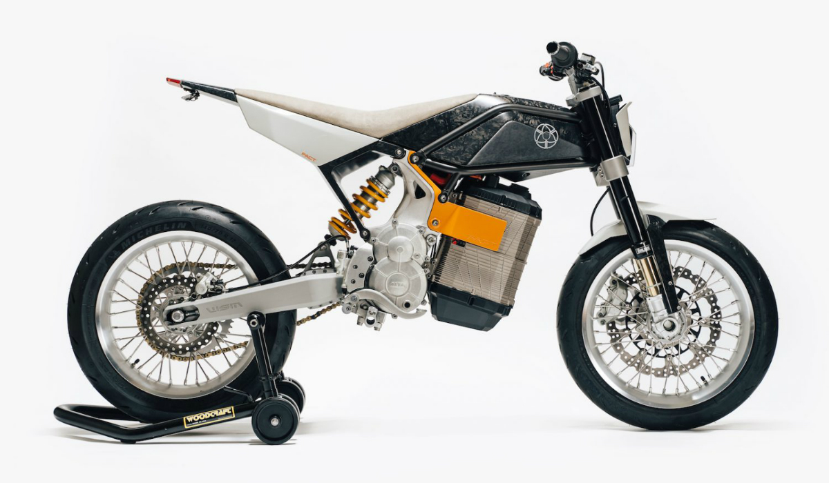 Pact, a exclusiva moto elétrica limitada a 10 unidades