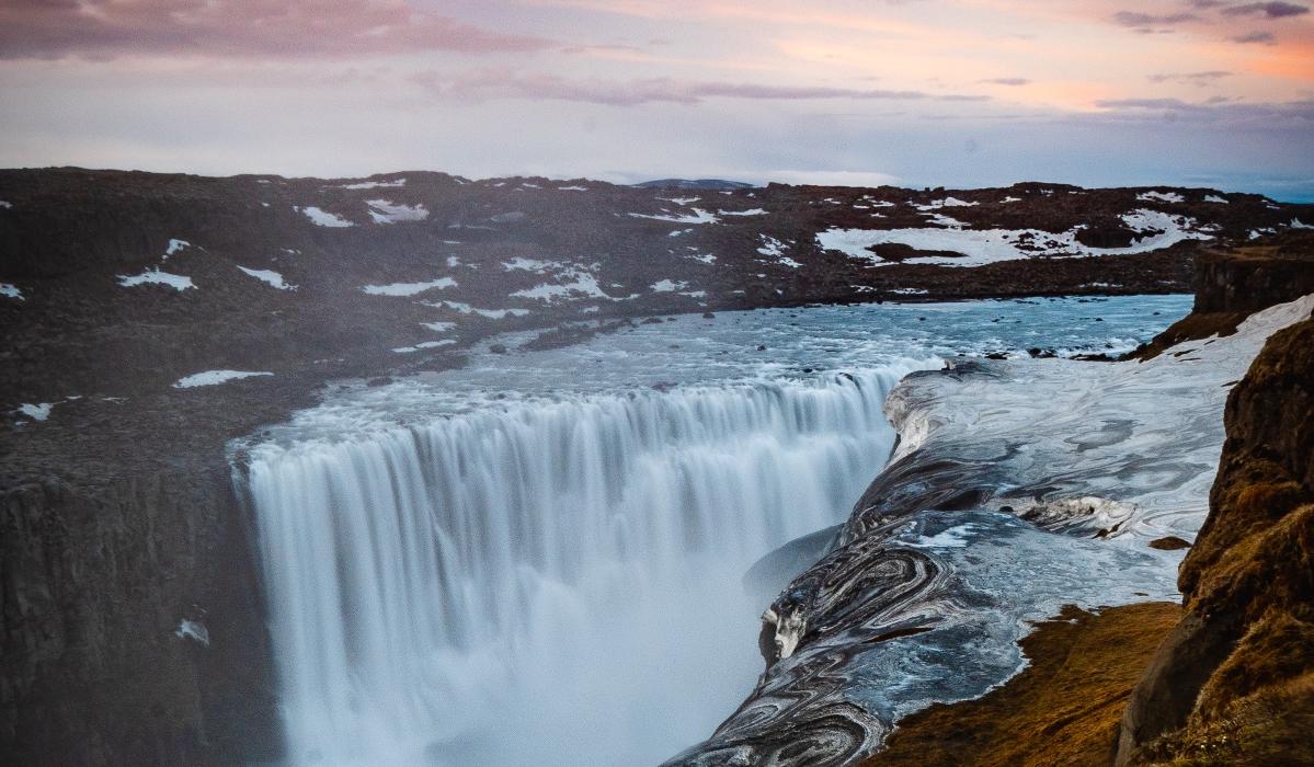 O Círculo do Diamante tem lagos incríveis, vulcões e a cascata com mais força da Europa