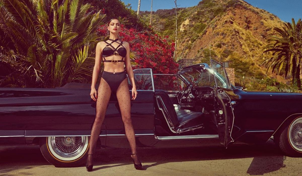Irina Shayk e o passeio de lingerie na rua que não deixa nada à imaginação