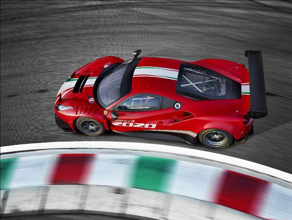 Ferrari 488 GT3 Evo recebe melhorias para atacar os campeonatos GT em 2020