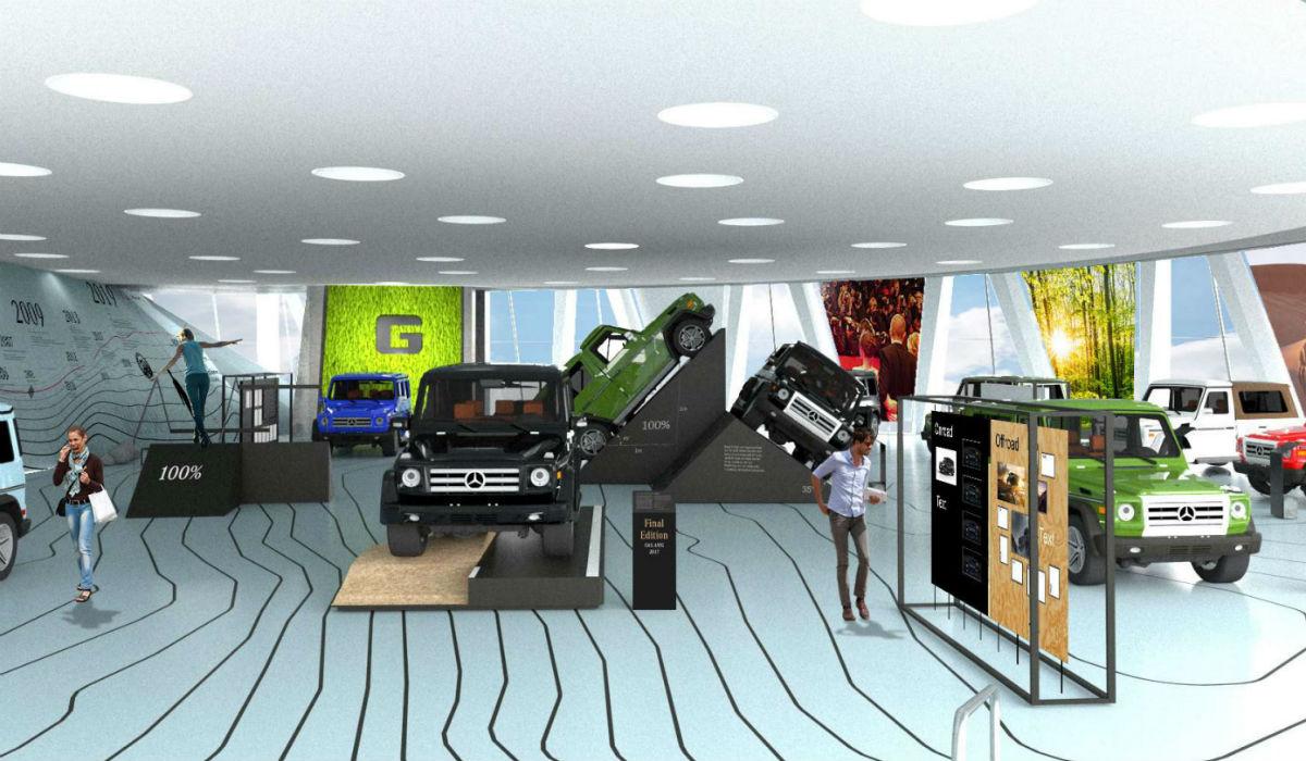 Mercedes-Benz celebra 40 anos do Classe G com exposição especial