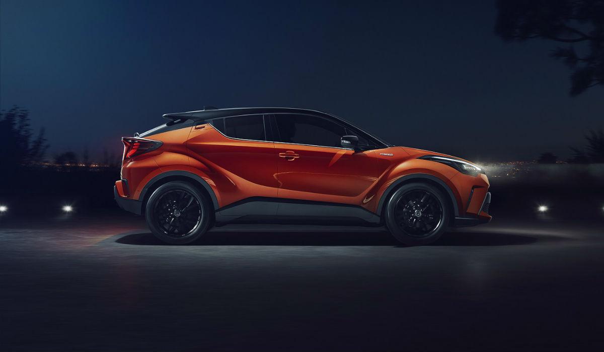 Toyota C-HR atualizado recebe nova motorização híbrida