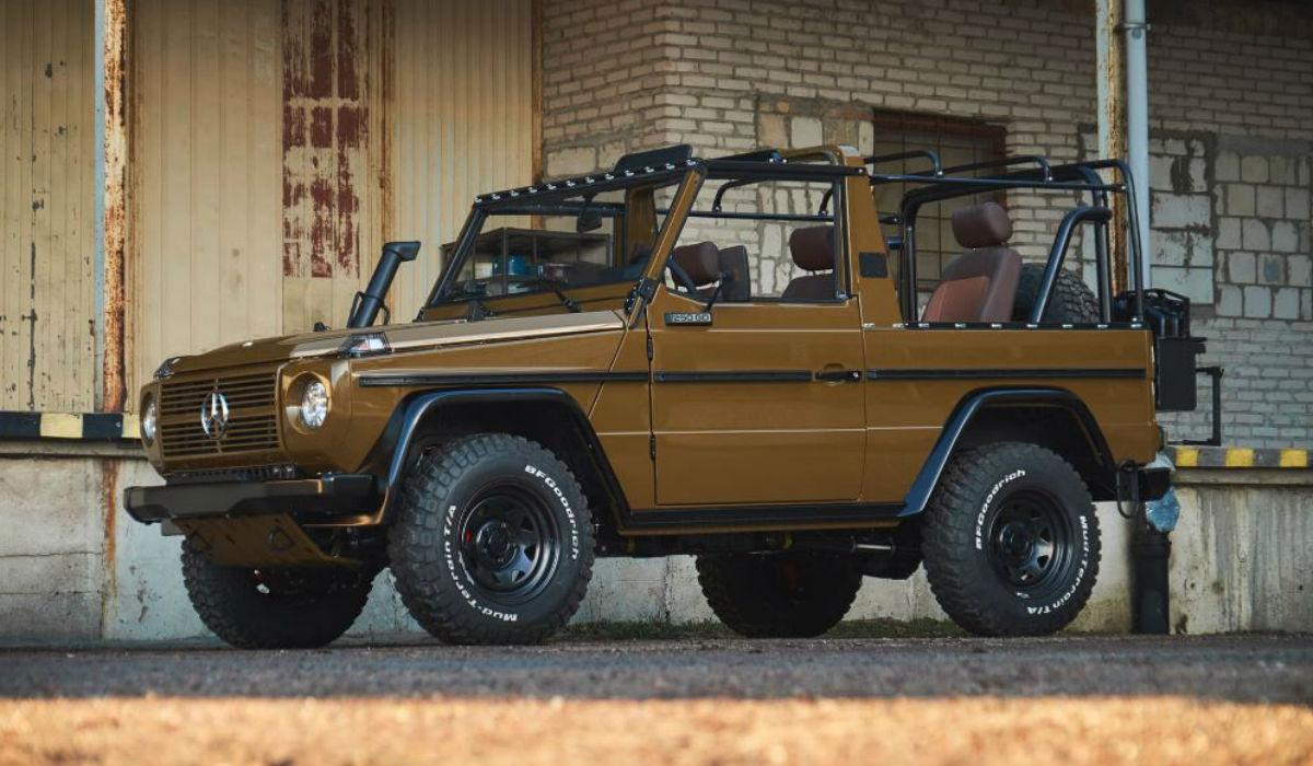 Mercedes-Benz G volta ao ativo e troca vida militar pela civil