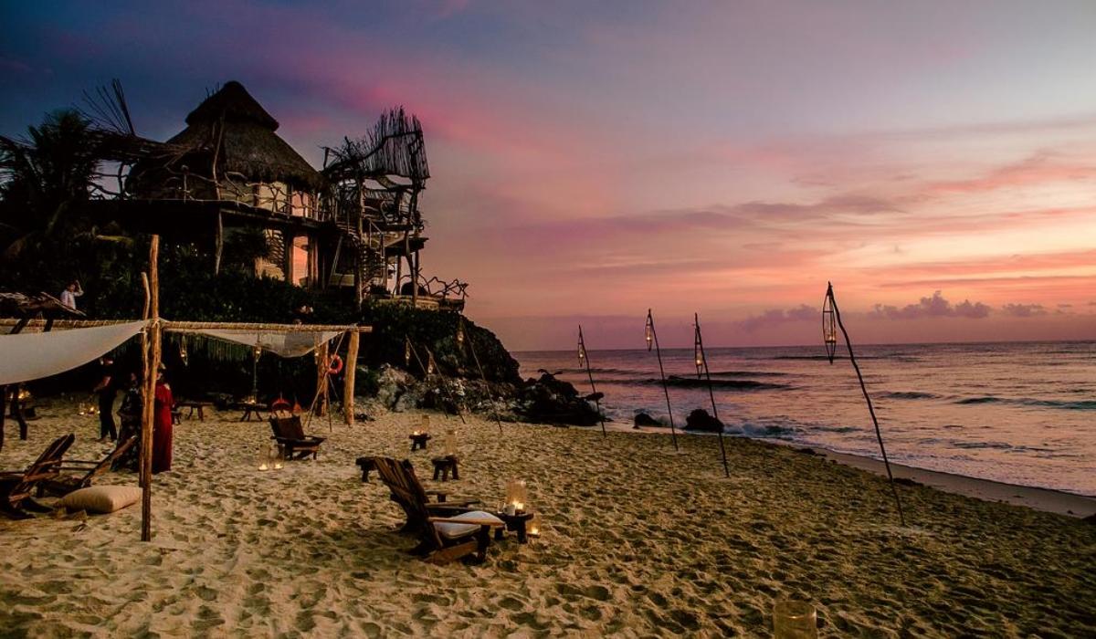 Azulik Tulum, o eco resort de luxo para adultos onde se pode andar nu na praia