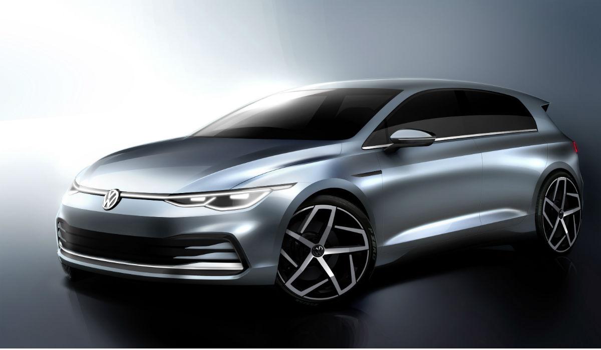 Novo Volkswagen Golf está pronto e marca divulga as primeiras imagens