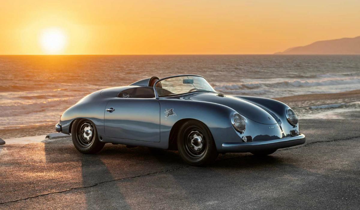 Porsche 356 Coupe foi convertido em Speedster e ficou incrível