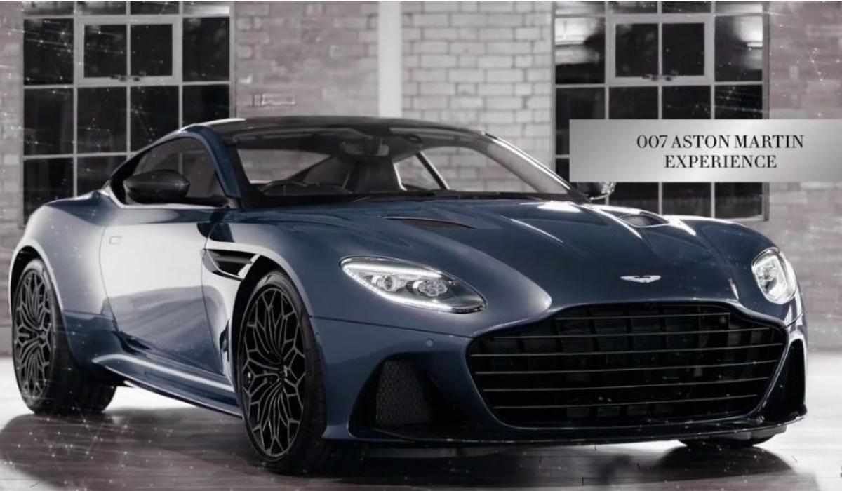 O exclusivo Aston Martin DBS Superleggera personalizado por James Bond