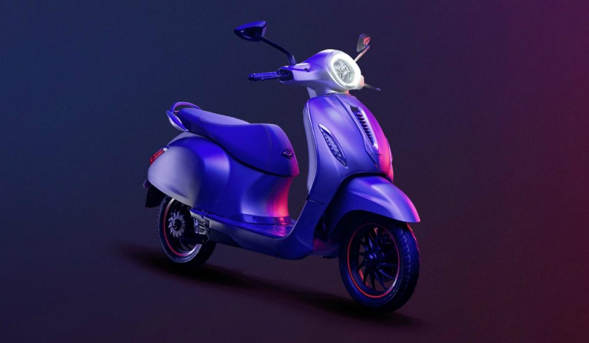 Bajaj Chetak, a scooter elétrica indiana inspirada na Vespa