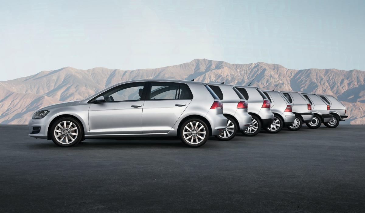 Volkswagen Golf: uma viagem pelas sete gerações e 45 anos de história do mítico carro