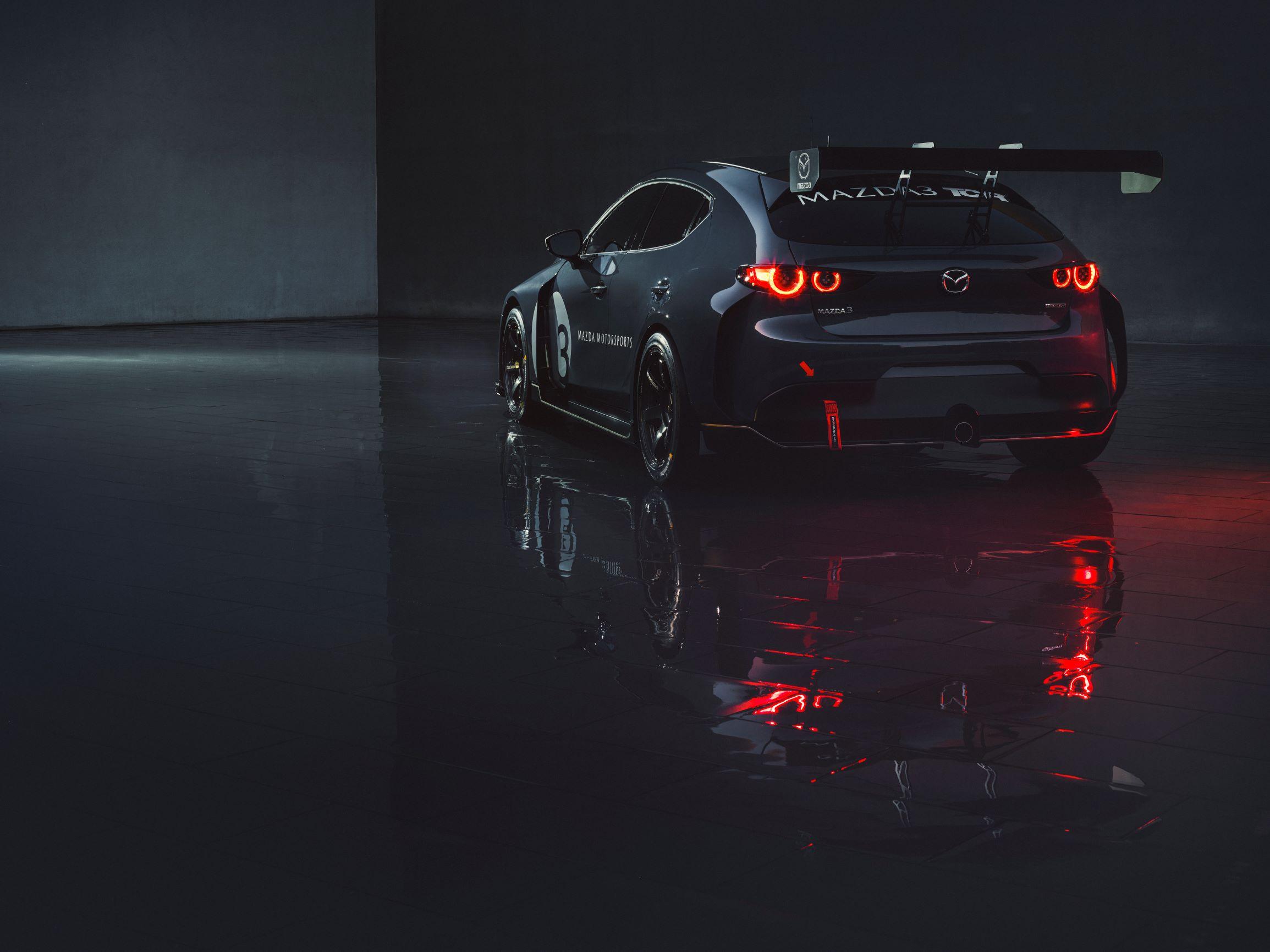 Mazda3 TCR é a nova arma da marca para as competições de turismo