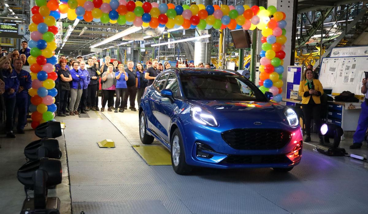 Ford inicia produção do Puma, o seu novo crossover eletrificado