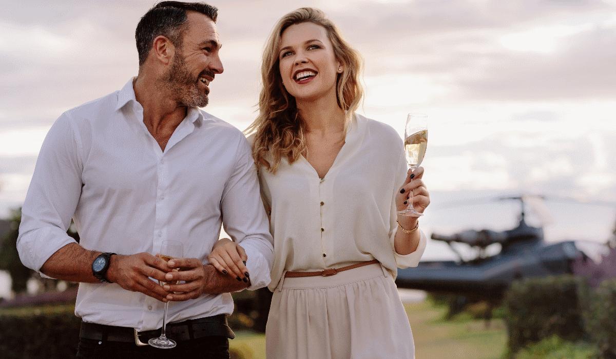 Segredo da longevidade está no champanhe e chocolate