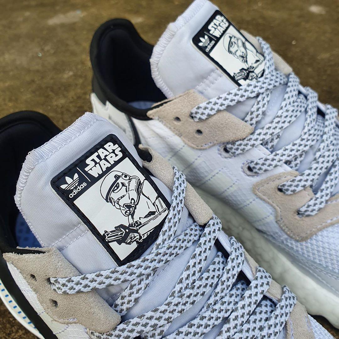 Adidas lança Nite Jogger Stormtrooper, uns ténis inspirados nos filmes Star Wars