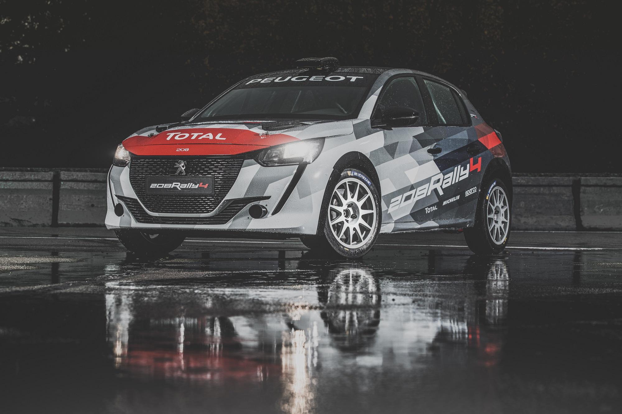 Peugeot 208 Rally 4 é a nova arma da marca para os ralis de 2020