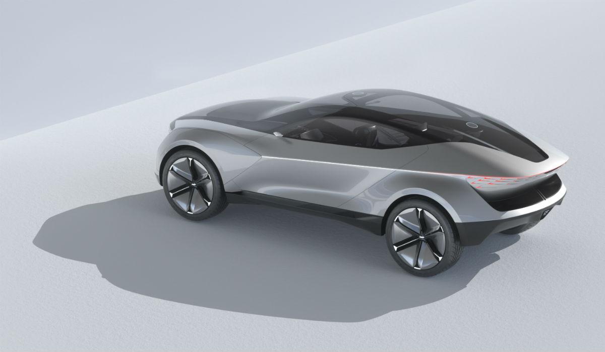 Kia Futuron antecipa possível SUV coupé elétrico