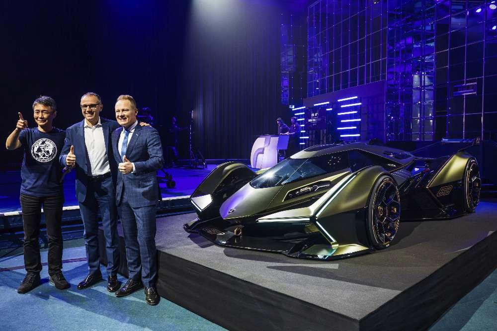 Gran Turismo vai receber novo Lamborghini V12 Vision GT Concept
