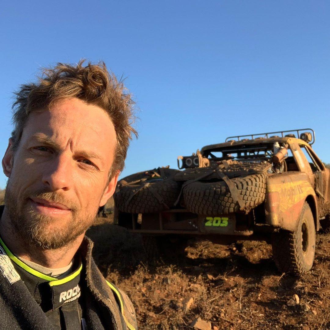 Jenson Button ficou 17 horas no deserto à espera de assistência na Baja 1000