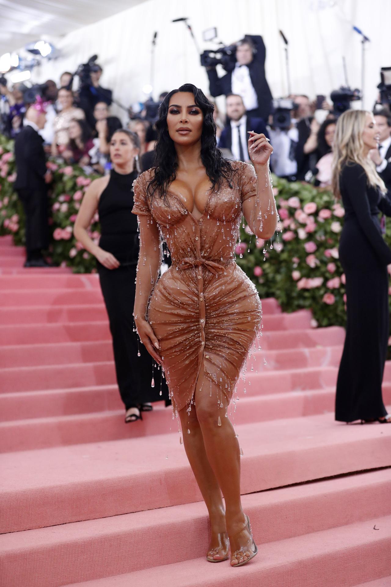 Kim Kardashian e os mamilos da polémica