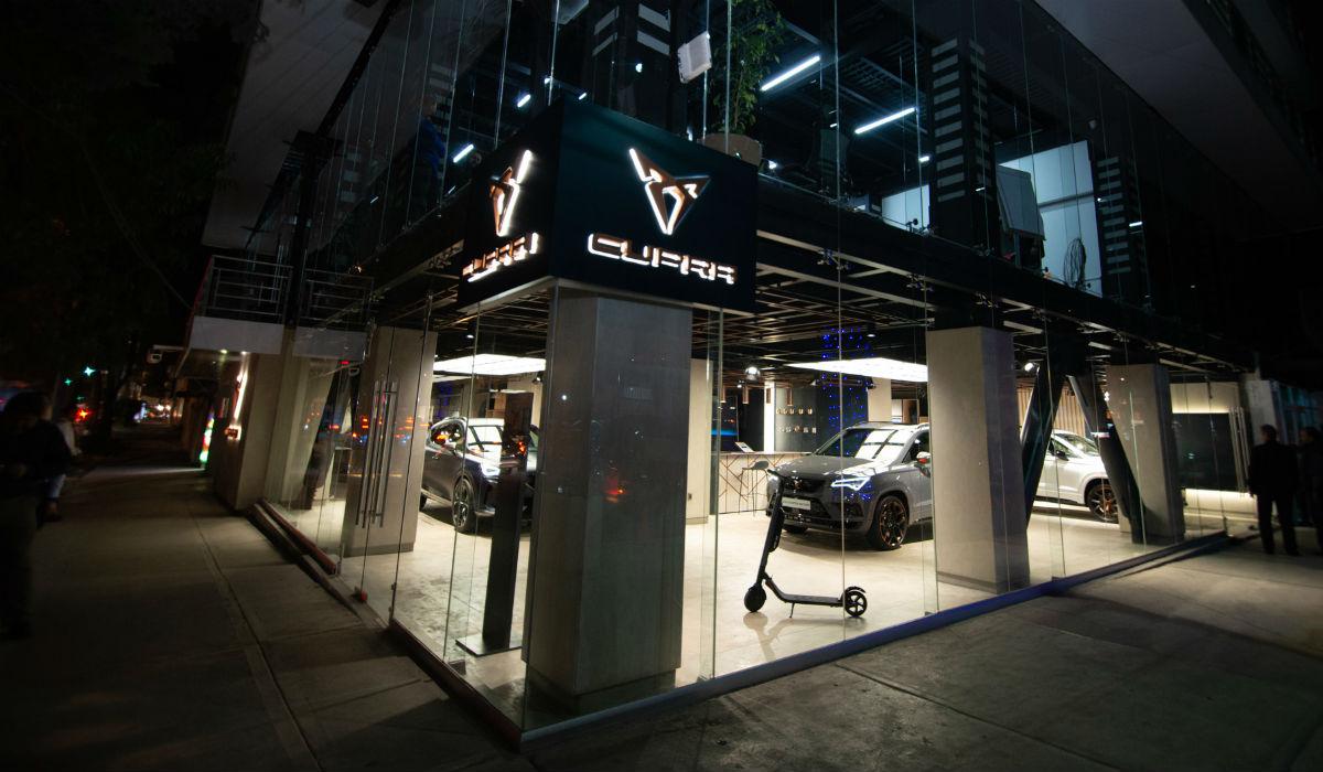 Cupra Garage é o primeiro espaço dedicado à marca
