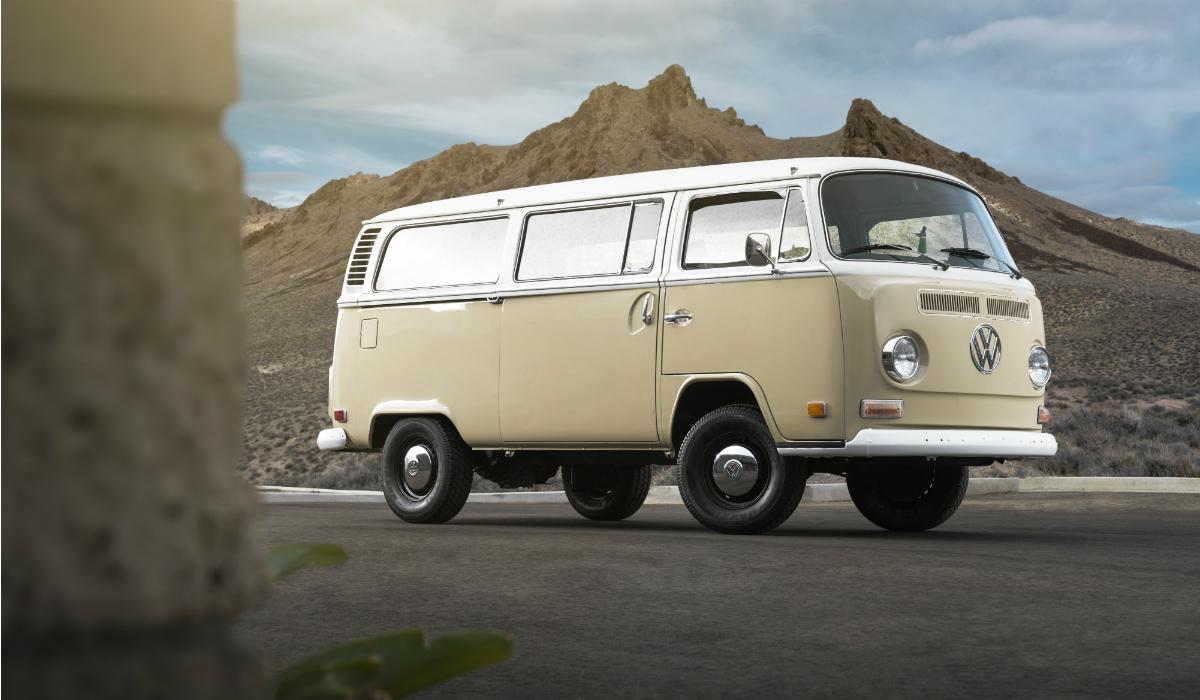 Volkswagen Type 2 ganha nova vida com motor elétrico