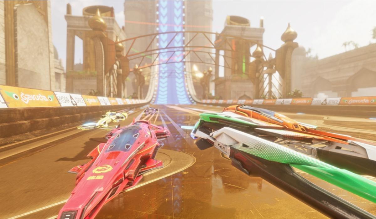 Pacer, o jogo de corridas futuristas com naves espaciais