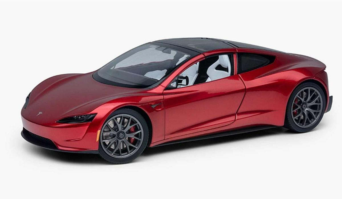 Novo Tesla Roadster já está disponível… em miniatura