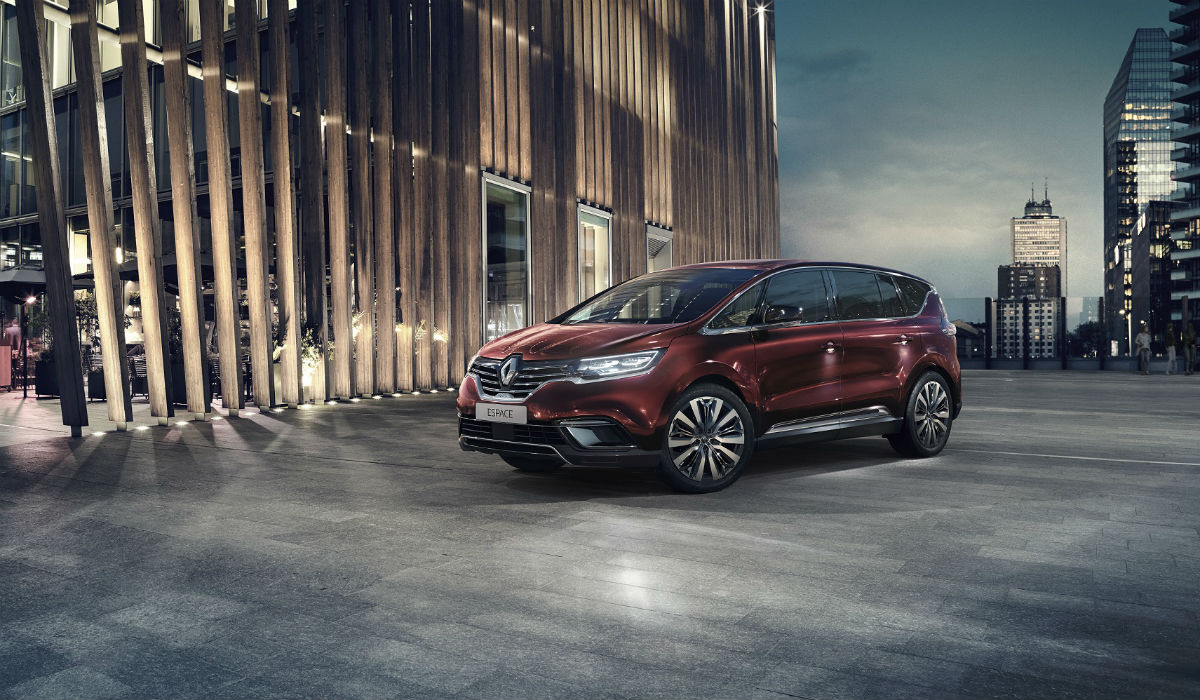 Renault atualiza visual e tecnologia do crossover Espace