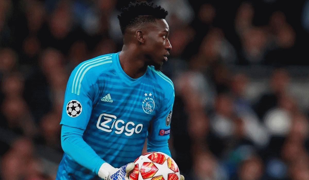 André Onana acusa clubes europeus de não confiarem nos guarda-redes negros