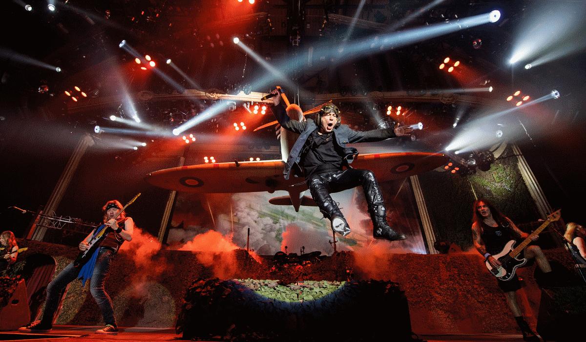 Iron Maiden estão de volta a Portugal