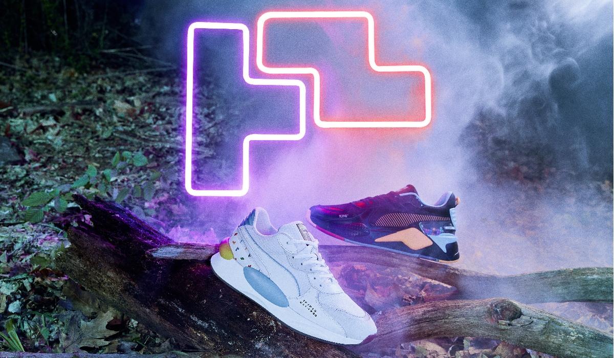Puma apresenta coleção inspirada no fenómeno Tetris