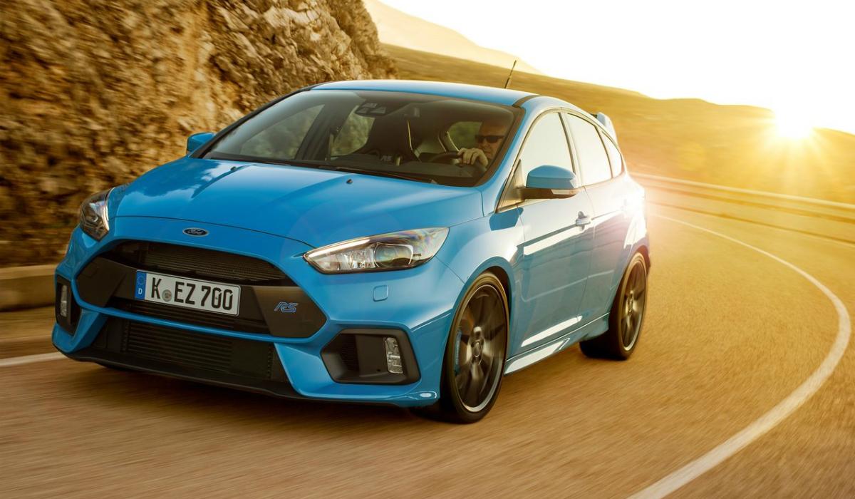Próximo Ford Focus RS vai ser híbrido com mais de 400 cavalos