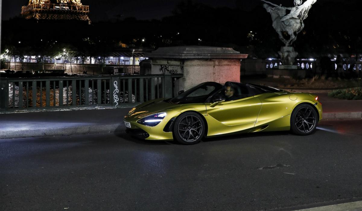 McLaren 720S Spider distinguido pela performance e luxo