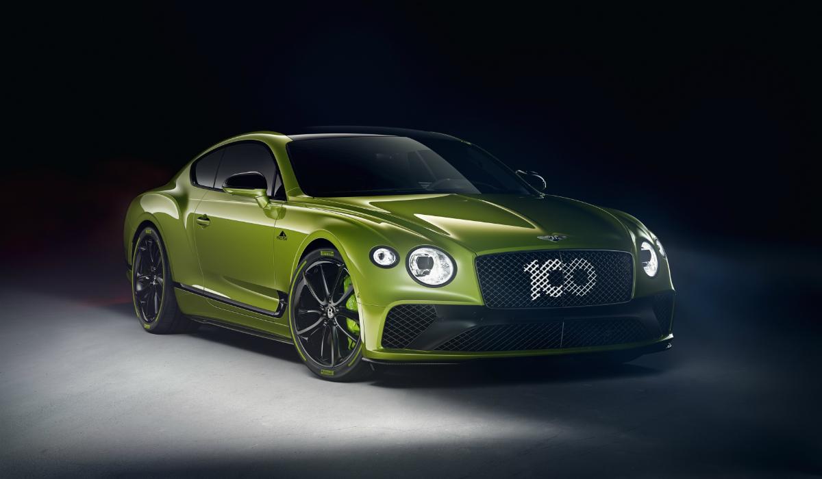 Edição especial Bentley Continental GT Pikes Peak é limitado a 15 afortunados