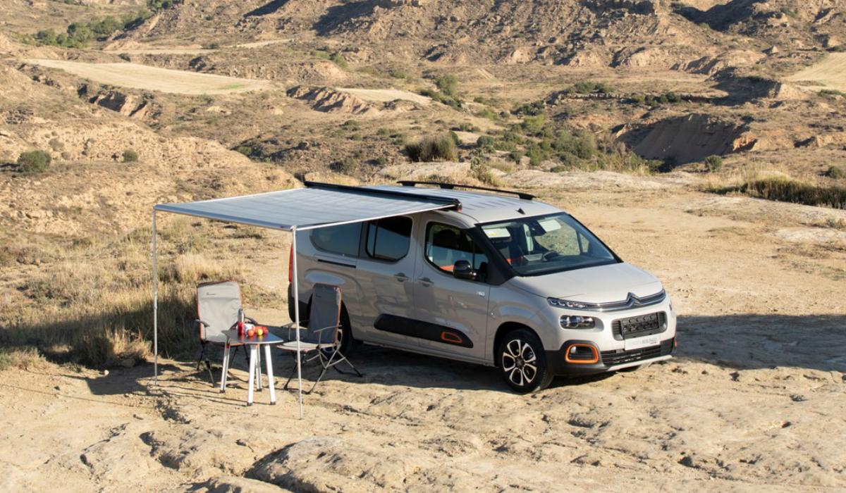 """Esta """"versão"""" do Citroën Berlingo é ideal para um fim de semana de campismo"""