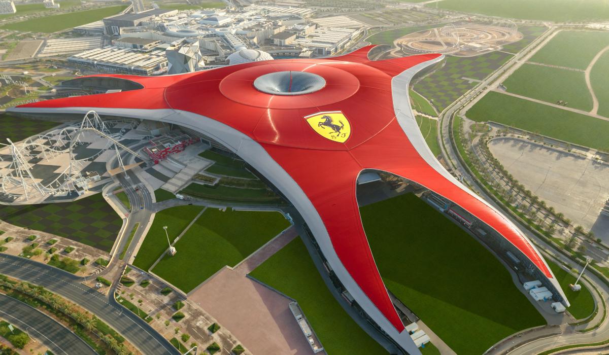 Ferrari tem o melhor parque temático do mundo