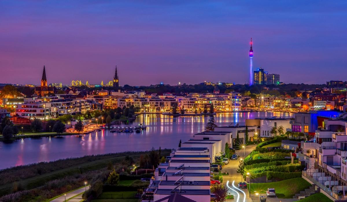 """A """"verde"""" Dortmund é a capital alemã do futebol e tem muito para  explorar"""