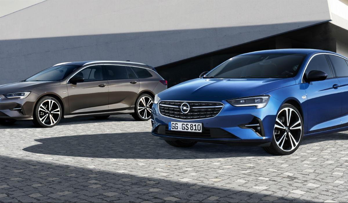 Opel estreia renovado Insignia no Salão de Bruxelas