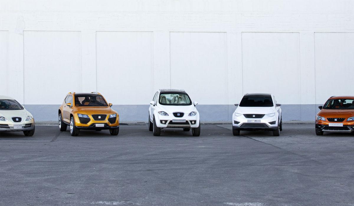 Estes foram os precursores da atual gama de SUV da Seat