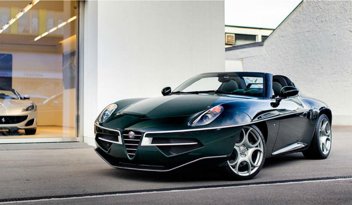 Este belíssimo Alfa Romeo está à venda, mas o preço é segredo