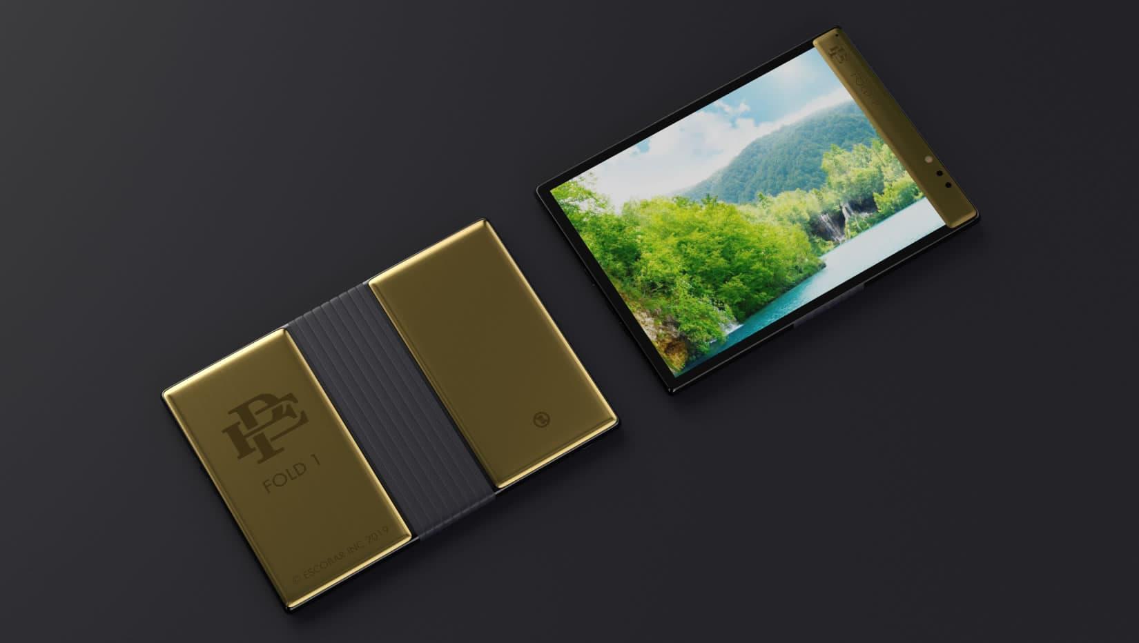 Fold 1, o smartphone dobrável e indestrutível criado pelo irmão de Pablo Escobar