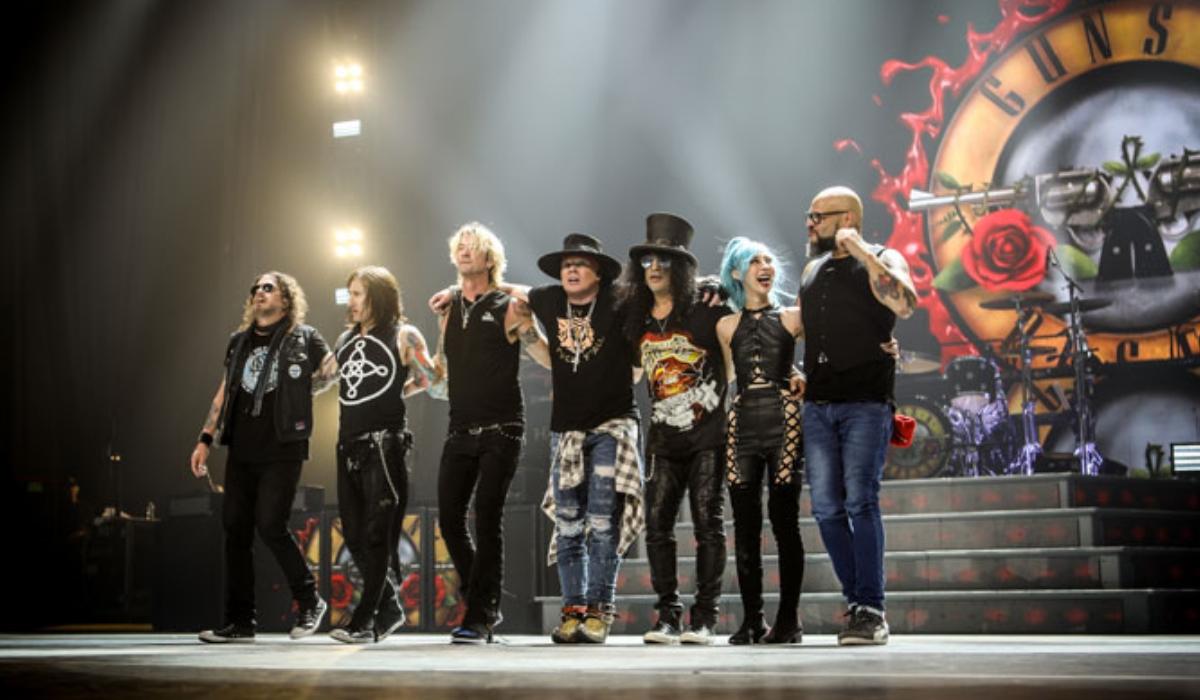 Guns N' Roses arrancam nova tour europeia em Portugal