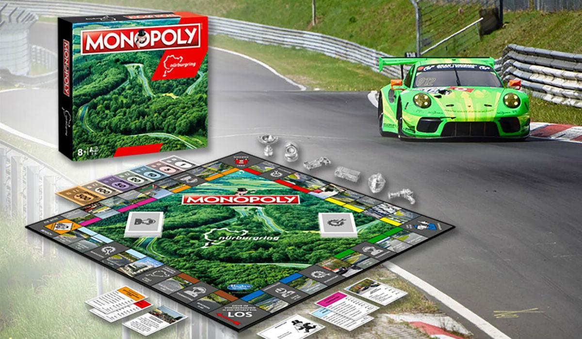 Monopoly edição Nürburgring é o presente perfeito para receber este Natal