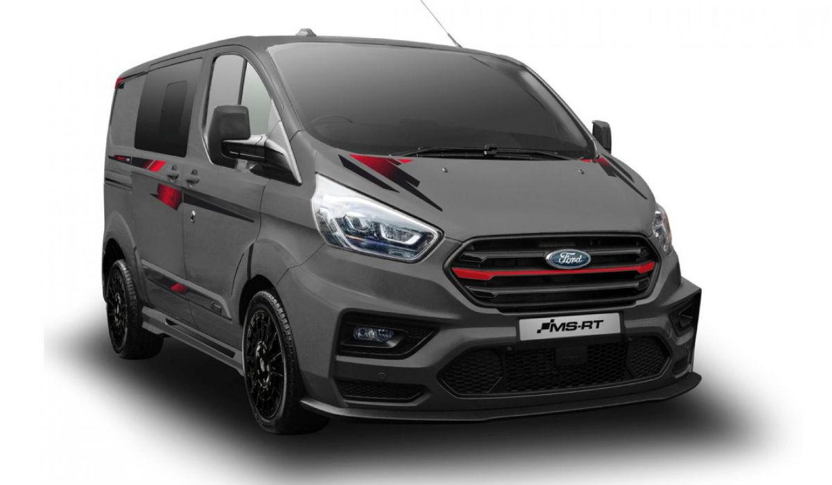 Esta Ford Transit inspirada na competição custa mais de 45 mil euros