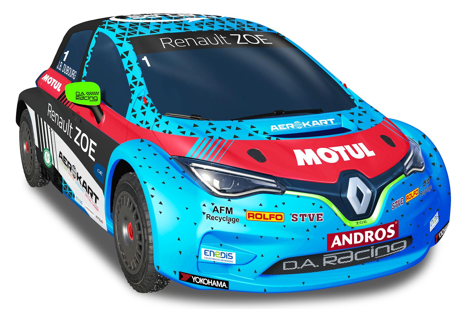 Renault Zoe é nova arma elétrica para as corridas no gelo