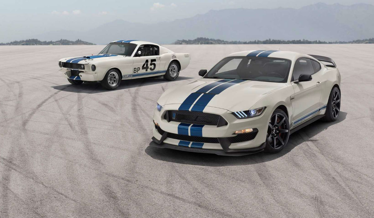 Ford Mustang Heritage Edition celebra o Shelby GT350 original